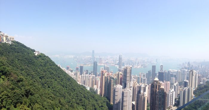 The Peak view