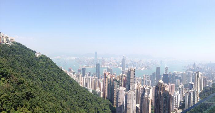 The Peak view