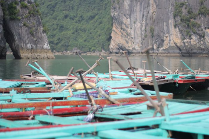 Boats Ha Long Bay Vietnam