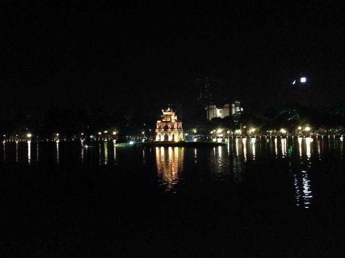 Ngoc Son Temple Hanoi Vietnam