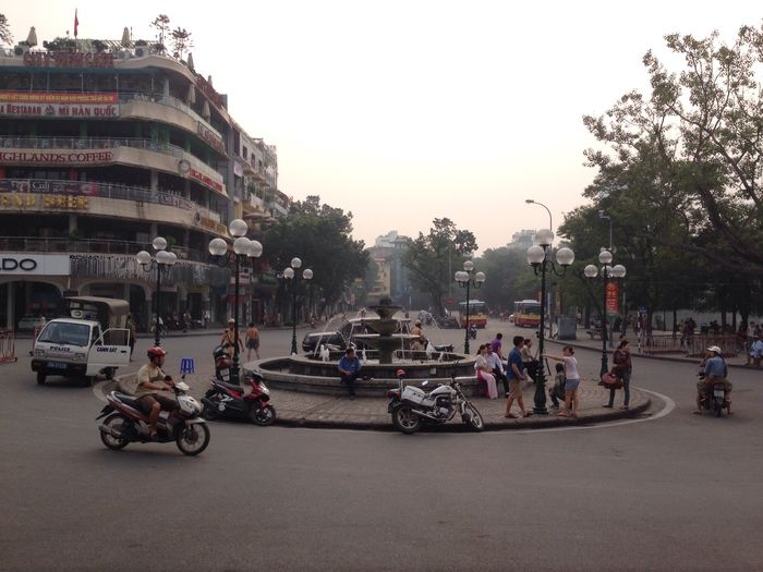 Waking up in Hanoi