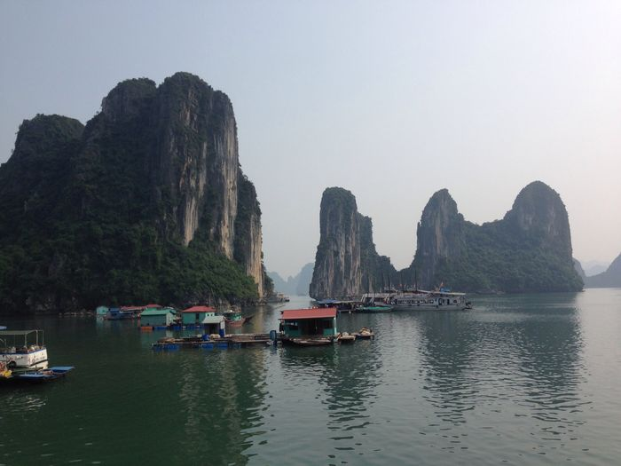 Fishing Village Ha Long Bay Vietnam