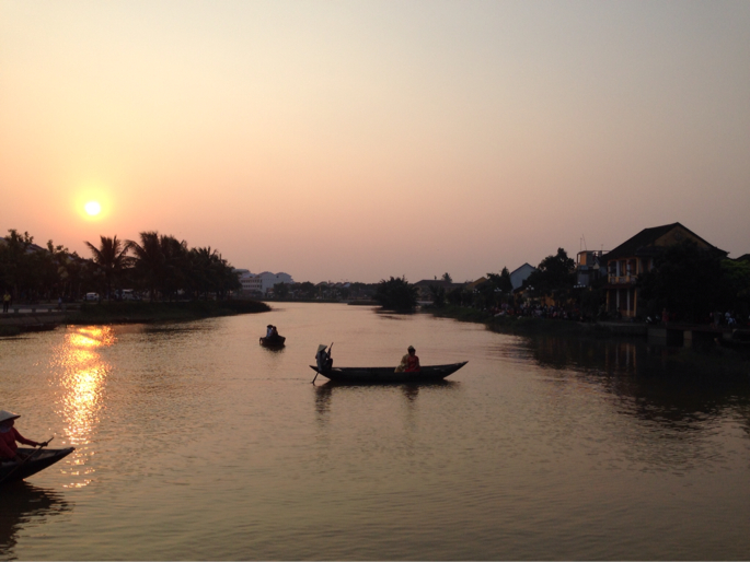 Vietnam sunset