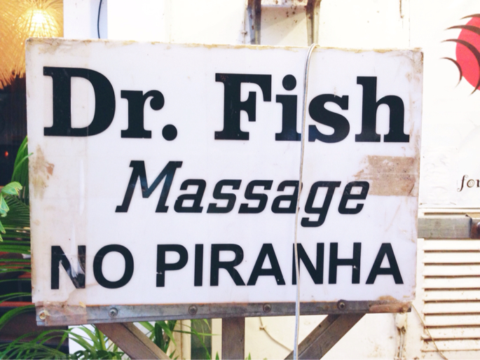 Fish massage cambodia